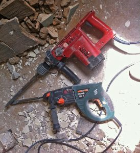 Best demolition hammer for tile removal